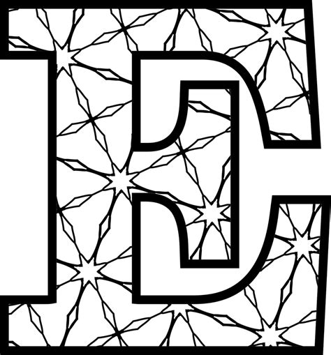 printable alphabet letters coloring pages
