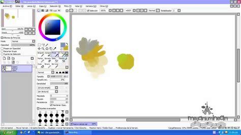 paint tool sai lo4d tutorial como usar paint tool sai parte 1