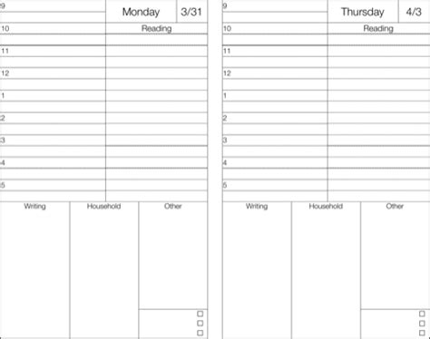 daily planner template for students listmachinepro com download student daily planner templates for free