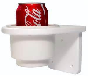 Corian Whitecap Teak Isle Single Starboard Drink Holder 13770 52401