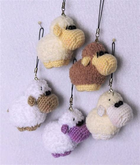 pattern crochet keychain 575 best sheep images on pinterest