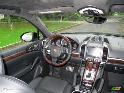 2011 porsche cayenne interior black interior 2011 porsche cayenne turbo photo 54590321