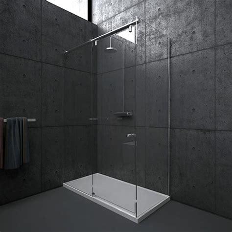 schuifdeur badkamer op maat aquaconcept profielloze schuifdeuren op maat rail