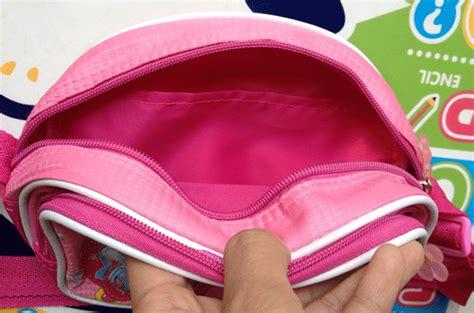 Tas Selempang Princess tas anak jjs princess pink mix
