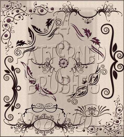 vintage pattern photoshop brushes download free photoshop brushes for graphic designers