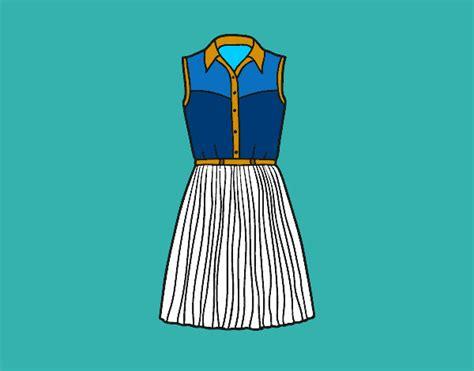 como dibujar vestidos fotos dibujo de super chic pintado por blanca2010 en dibujos net