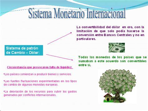 finanzas internacionales sistema monetario internacional finanzas internacionales sistema monetario internacional