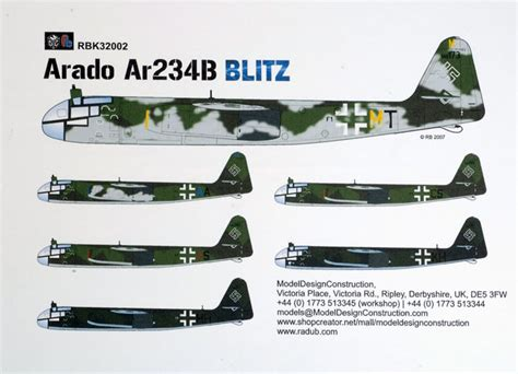 Home Design Box Type Arado Ar 234 B Review By Brett Green Mdc Radu Briznan 1 32