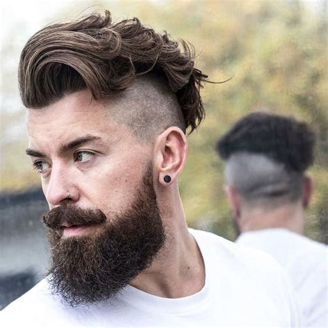 beard and undercut hairstyles 22 disconnected undercut hairstyles haircuts