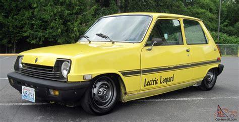 renault car 1980 1980 renault lecar lectric leopard