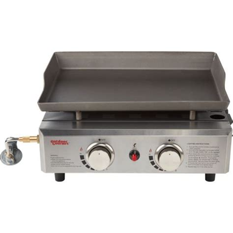 table top gas griddle outdoor gourmet triton tabletop propane griddle academy