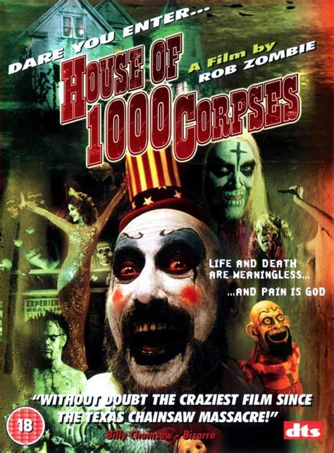 rob zombie house of 1000 corpses house of 1000 corpses with sid haig
