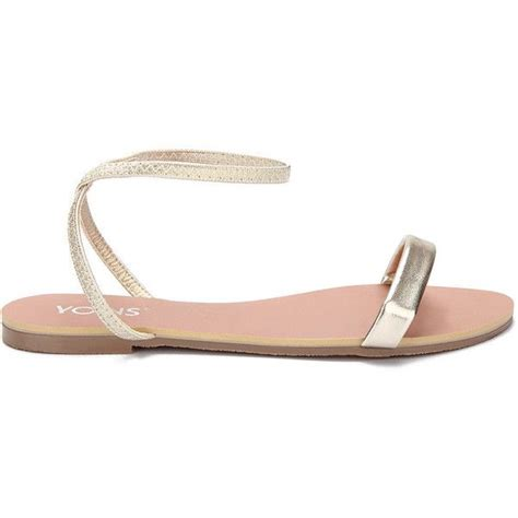 Gold Bridesmaid Sandals by 1000 Ideas About Gold Flat Sandals On