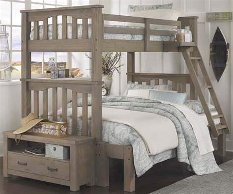 full size mattress for bunk bed 10055 harper twin over full size bunk bed highlands beds