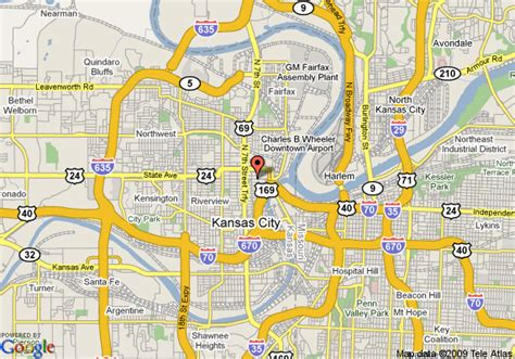 Directions To Garden City Kansas by Map Of Garden Inn Kansas City Kansas Kansas City