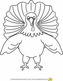 Pin Cut Out Turkey On Pinterest sketch template