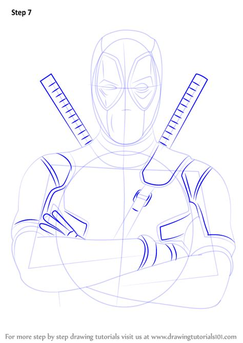 Drawing Step By Step by Learn How To Draw Deadpool Deadpool Step By Step