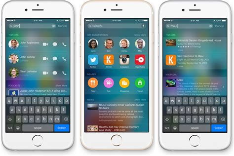 spotlite iphone 6 swipe right for spotlight a vastly improved iphone search