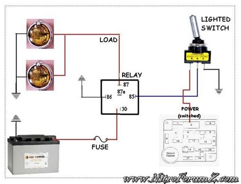 3 way switch wiring diagram fog light relay with and