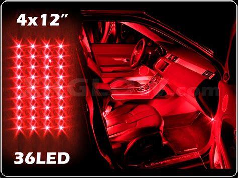 Interior Neon Lights For Trucks by New 4pc Led Slim Interior Light Kit For All Cars W
