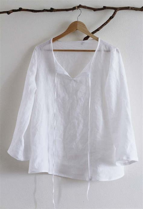 pattern white blouse sewing for me ikea blouse sanae ishida