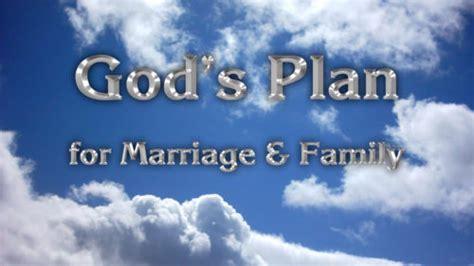 God original plan for marriage