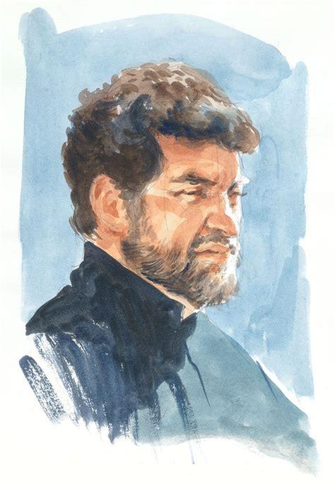 sketchbook pro watercolor watercolor portrait by grobles63 on deviantart