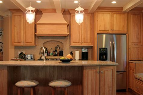 Red Oak Cabinets Kitchen | custom cabinetry project gallery plain fancy cabinetry