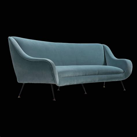 blue velvet couch for sale blue velvet sofa for sale at 1stdibs
