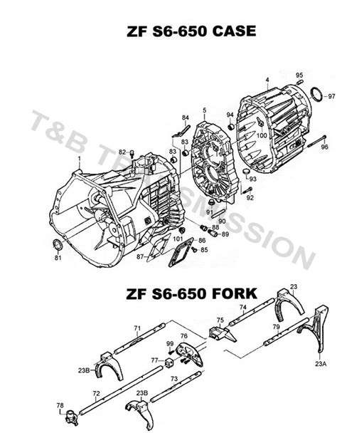 Zf 6 Speed Transmission Parts