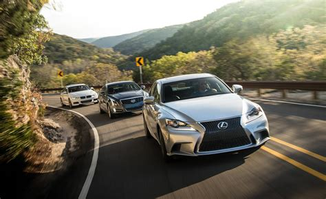 2014 lexus is350 vs bmw 335i vs cadillac ats 3 6