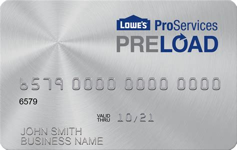 Lowe S Business Credit Card