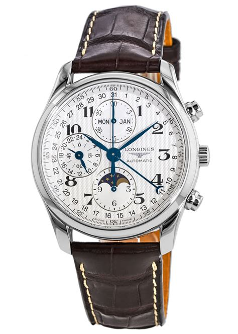 longines  master collection moonphase mens