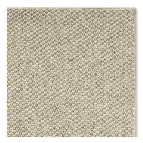 sissal rug customizable sisal rug limestone williams sonoma
