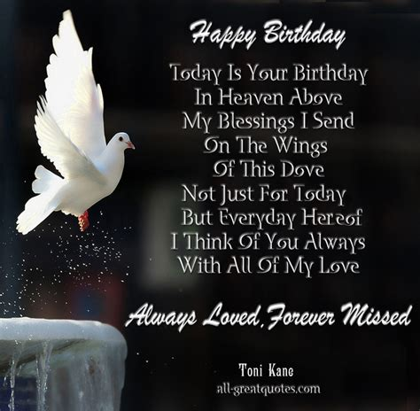 Happy Birthday Quotes To In Heaven Happy Birthday Dad In Heaven Quotes From Daughter Image