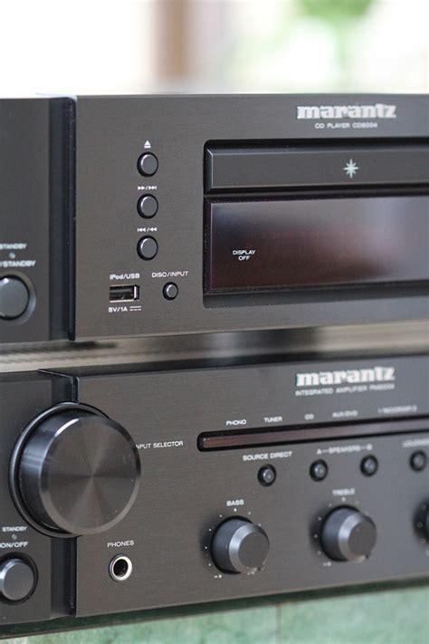 marantz pm integrated amplifier  cd cd player