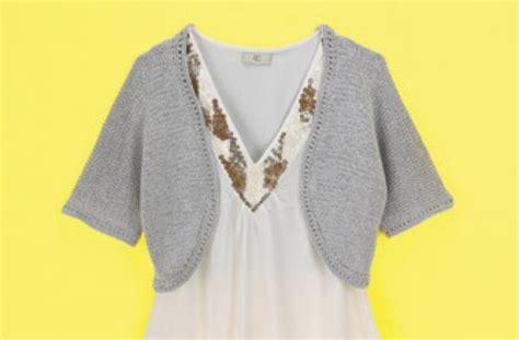 bolero patterns to knit bolero knit patterns 171 free patterns