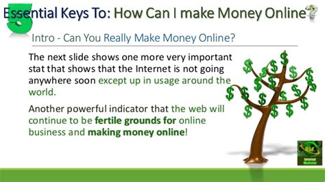 How Can One Make Money Online - how can i make money online 6 essential keys