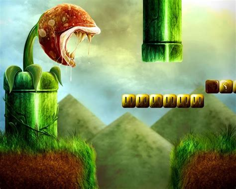 wallpaper abstract mario photo realistic wallpapers