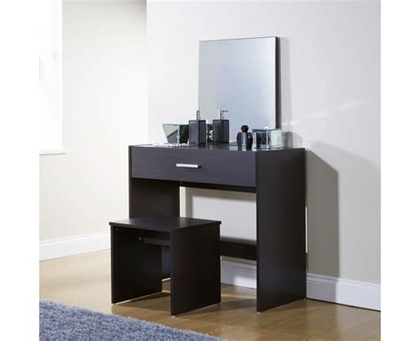 Espresso Vanity Table Modern Bedroom Vanity Dressing Table Espresso