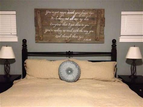 wedding song lyrics  reclaimed wood   bed diy