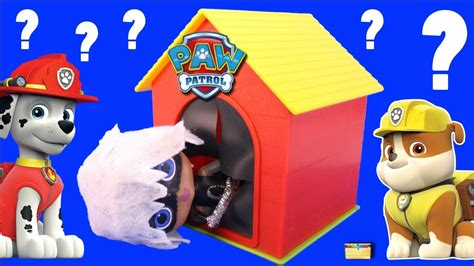 who s in the dog house who s in the paw patrol dog house game 2 surprise toys
