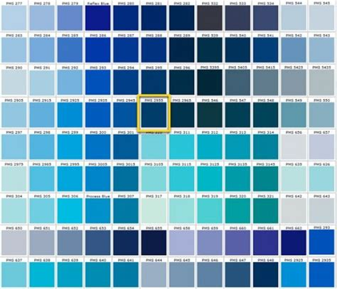 shades of blue color chart different shades of blue adriana s 15 ideas pinterest