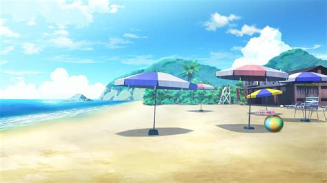 anime on beach http hd wall papers com images wallpapers anime beach