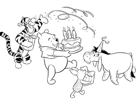 free coloring pages happy birthday printable happy birthday coloring pages 360coloringpages