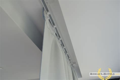Tringle A Rideau Rail Plafond by Confection Rideau Sur Rail