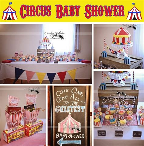 Circus Baby Shower Decorations by 25 Best Ideas About Circus Baby Showers On