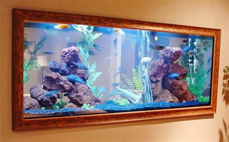 Inside Wall Aquarium Have The Ultimate Fish Tank Built | fish tanks on the wall motavera com