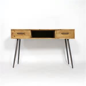 bureau scandinave vintage bois et m 233 tal made in meubles