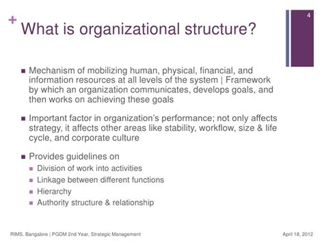 layout strategy importance the importance of organizational design structure autos post